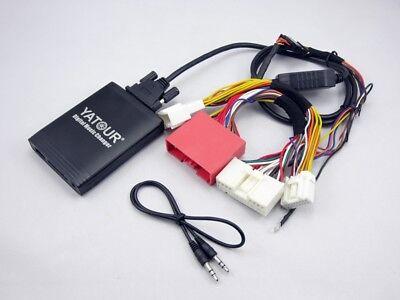Usb Sd Sd Aux Adapter Mp3 Wechsler Interface Kompatibel Mit Mazda Rx8 2010-2012 Einen Effekt In Richtung Klare Sicht Erzeugen