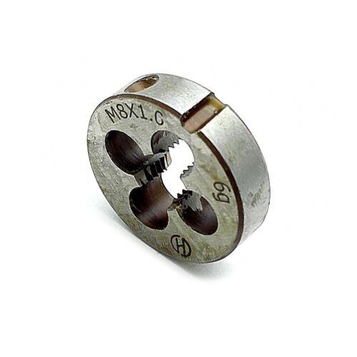 US Stock New HSS 8mm x 1 Metric Die Right Hand Thread M8 x 1mm Pitch