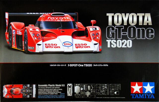 Tamiya 24222 1/24 Scale Model LMGTP Car Kit Toyota GT-One TS020 1999 Le Mans