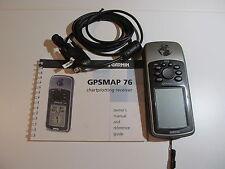 Garmin GPSMAP 76 Versatile Navigator Handheld GPS Receiver - Fishing Hiking