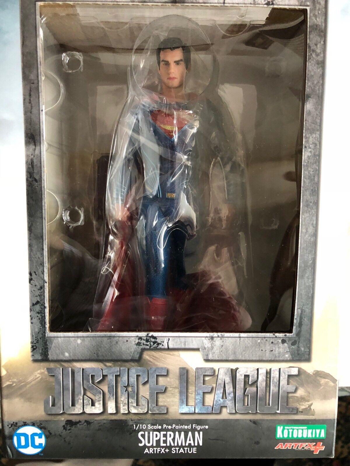 Superman gerechtigkeitsliga film artfx 18cm festgelegten zahl