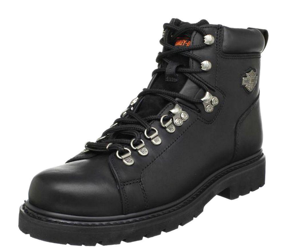 Harley-Davidson ® Para hombre botas Motocicleta de Cuero Negro Dipstick D91610