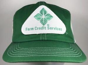 Image is loading Vintage-Farming-Credit-Services-Hat-Snapback-K-Brand- 3cc80d7fed8d