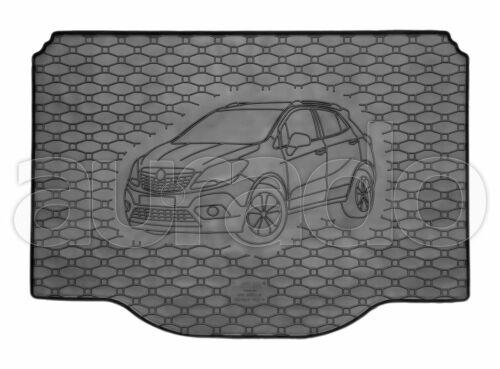 Gummi-Kofferraummatte für Opel Mokka ab 2012//Mokka X ab 2016 Kofferraumwanne