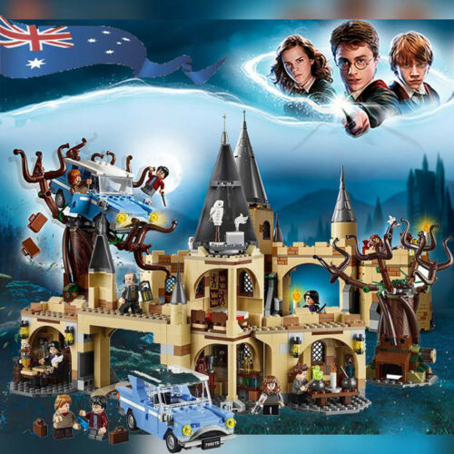Harry Potter Hogwarts Castle Building Blocks Educational Toys Kit Boys Xmas Gift