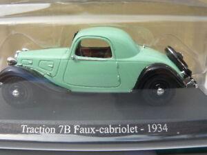 citroen traction 7 b faux cabriolet de 1934 au 1 43 me ebay. Black Bedroom Furniture Sets. Home Design Ideas