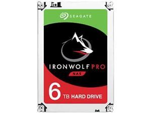 """Seagate IronWolf Pro ST6000NE0023 6 TB 3.5"""" Internal Hard Drive - SATA - 7200rpm"""