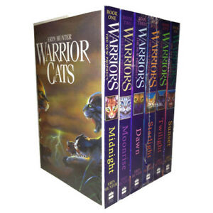 Warrior-Cats-Series-2-Collection-Erin-Hunter-6-Books-Set-Pack-The-New-Prophecy