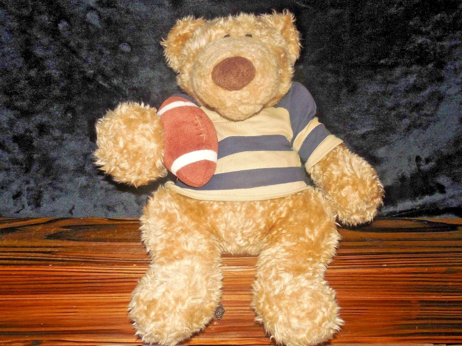 Gund Plush Pottery Barn Kids Sports Clancy 43098 Football Stuffed Teddy Bear