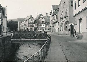 ALLEMAGNE c. 1940 - Rue de Bad Münstereifel Rivière Pont Commerces - DIV8409 IdbUfMED-08061051-951564605