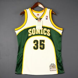Image is loading 100-Authentic-Kevin-Durant-Mitchell-Ness-Sonics-NBA- d75a2b878