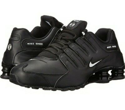 new products 430d4 90e8f Details about Nike Shox NZ. Size 11.5 Black leather with White swoosh Mens