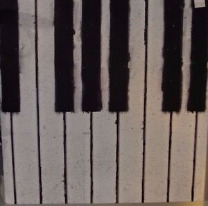 Details About Piano Keyboard Metal Sign Wall Decor