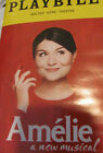 AMELIE Playbill PHILLIPPA SOO Broadway Musical New York Hamilton