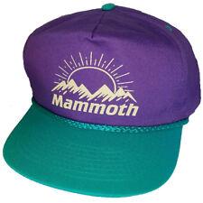 item 1 Mammoth Mountain Purple Teal 80 s Snapback Boardwalk Hat Cap Ski  Snowboard -Mammoth Mountain Purple Teal 80 s Snapback Boardwalk Hat Cap Ski  ... 415d18077