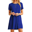 Women-039-s-Casual-Short-Sleeve-Solid-Loose-Tunic-Top-Shirt-Blouse-Dress-Plus-Size thumbnail 12