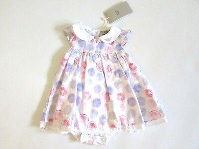 Inteligente Armani Girl Abito Vestito Battesimo Bambina Primavera Estate 6 Mesi Sconto 50% Sconto Online