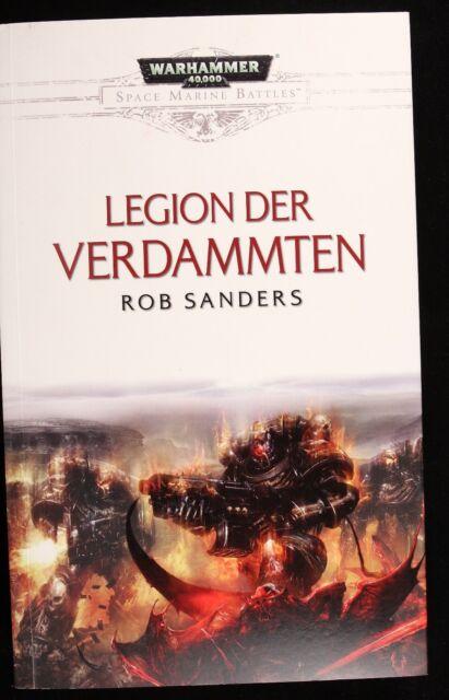 Space Marine Battles - Legion der Verdammten von Rob Sanders (2014, Taschenbuch)