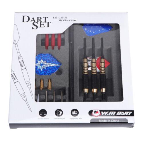 Dartpfeile SetSoftdarts /& Steeldarts in der BoxKunststoff /& Metallspitzen