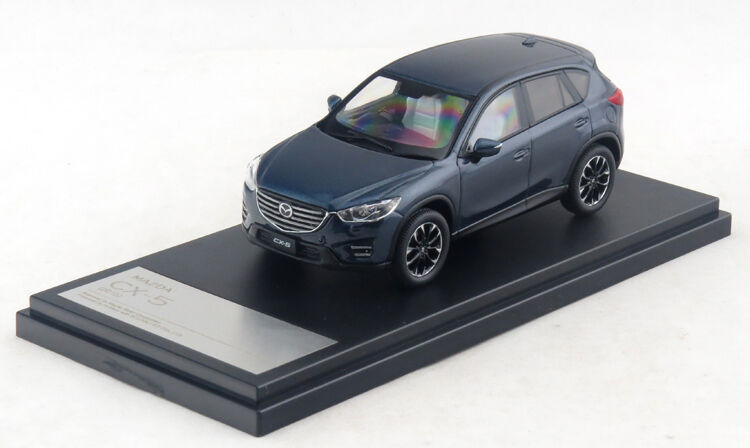 1/43 Hi-Story Mazda CX-5 2015 Dark Blue HS136DB