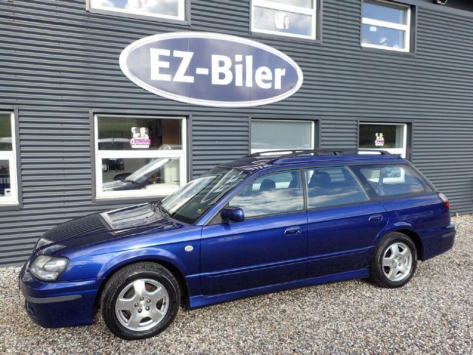 Subaru Legacy 2,0i Wagon Benzin 4x4 modelår 2004 km 229000