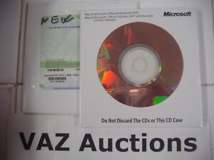 Microsoft Office 2007 Basic Edition BE Full English Version MS =BRAND NEW=