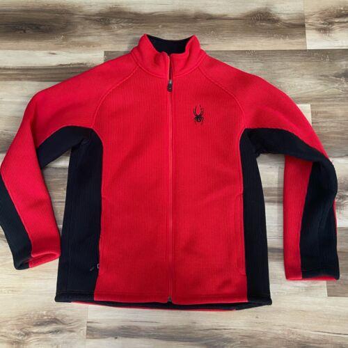 Spyder Foremost Red Full-Zip Jacket Insulated Heav