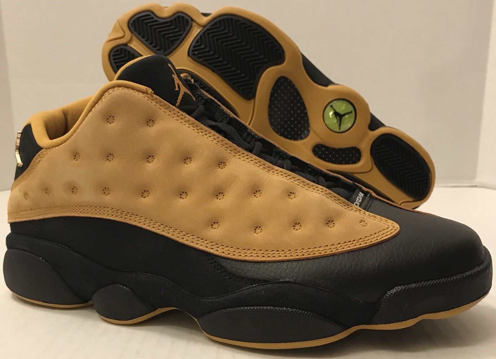 save off 7bc4f 784a5 NIKE AIR JORDAN 13 RETRO LOW 310810-022 Black Chutney (MEN S 10)