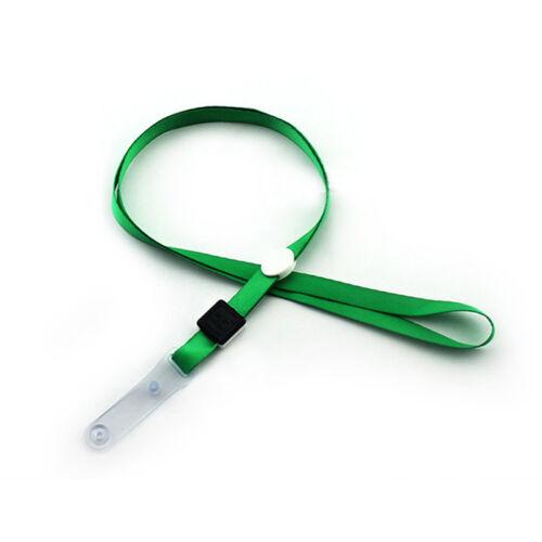 10pcs 1 Cm ID Holder badge clé cartes REFS Sifflet document cou ruban cordon