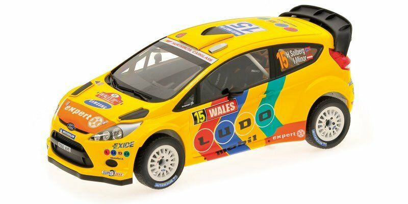 Ford Fiesta Rs Wrc  15 3rd Wales Rally 2011 Solberg Minor 1 18 MINICHAMPS