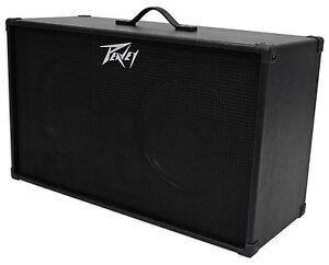 PEAVEY-212-80-Watt-RMS-2x12-034-Speakers-Guitar-Amplifier-Amp-Extension-Cabinet