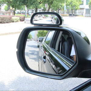 Car-Wide-Angle-Mirror-Convex-Rearview-Side-View-Mirror-Blind-Spot-Mirrors-new