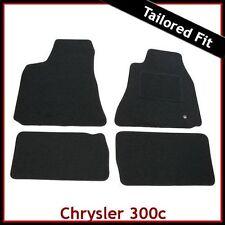 Chrysler 300c Mk1 2005-2010 Tailored Fitted Carpet Car Floor Mats BLACK