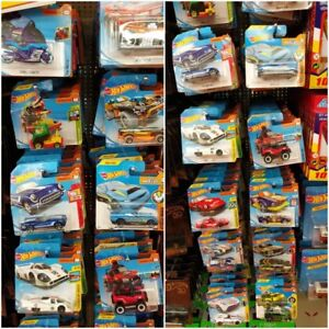 Hot-Wheels-Vehiculos-Basicos-de-coches-de-fundicion-1-64-Surtido