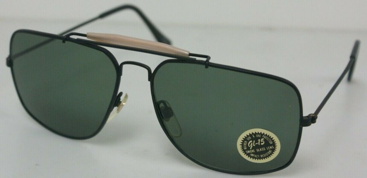 Traditional Outdoorsman Pilot style Navigator with Glass G-15 Lens sunglasses