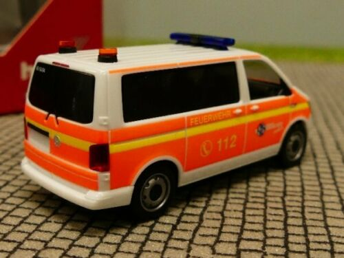 1//87 Herpa VW T6 Bus MTW FFW Norderstedt 094474
