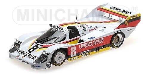 PORSCHE 956k-Joest Racing Lindsay  Saker Motors Wollek  8 1 18 Minichamps  prix de gros