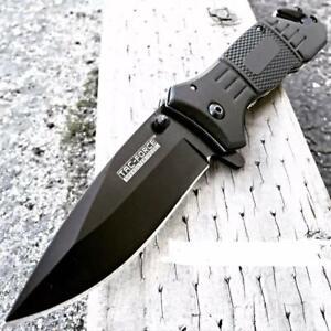 cuchillos la hoja táctico plegable cuchillo supervivencia CAZA PESCA ACERO INOX