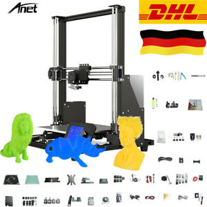 Anet A8 Plus DIY 3D Drucker Printer 300x300x350mm Groß LCD & 10m PLA Filament