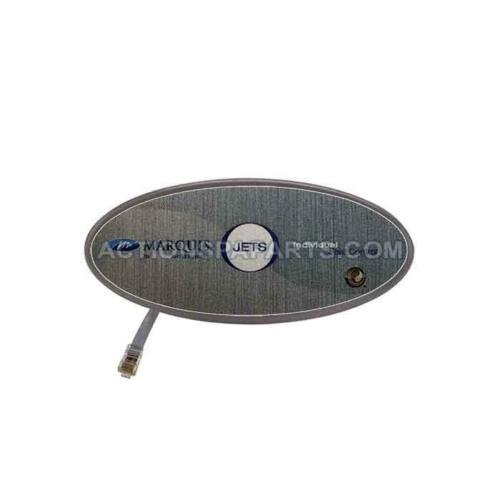 """Marquis Hot Tub Spas Control Panel Auxiliary 1 /""""JETS/"""" Button 650-0477 650-0686"""