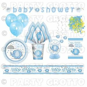 elephants animals baby shower boy party supplies tableware decorations