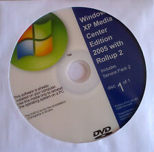 Windows XP Media Center Edition 2005 Rollup 2 recovery install setup disc cd dvd