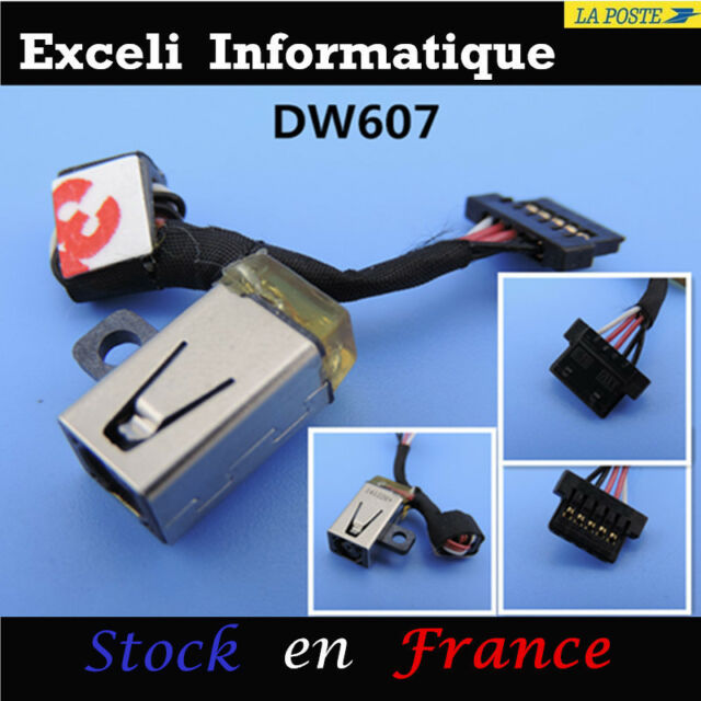 Dell XPS 11 xps11d-1308t Power Dc Jack Socket Connector with Cable E88 France T