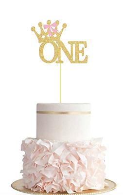 Enjoyable Babys First Birthday Cake Topper Boy Girl Twins Glitter On Both Funny Birthday Cards Online Elaedamsfinfo