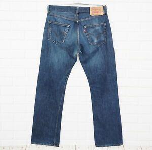 Levi-039-s-Jeans-Uomo-Tgl-W32-L32-Modello-501