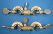 Fisher Castaloy Clamp Swivel Holders X2 Early Model Free Shipping Dd