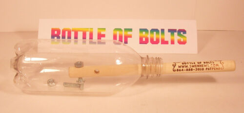 BOTTLE OF BOLTS PUZZLE-Great gift!! Toy-unique /& fun-100/%  rating