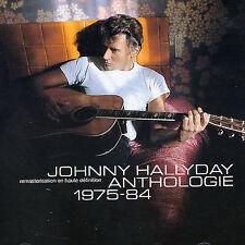 Anthologie 1975-1984 Johnny Hallyday Audio CD