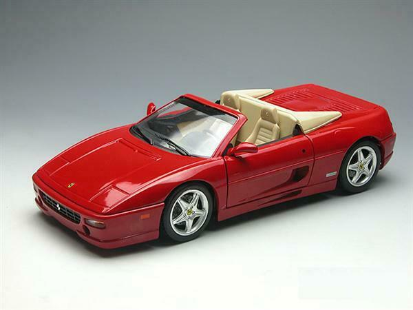 Hot  Wtalons Ferrari F355 Spider rouge 1 18 25733  sports chauds