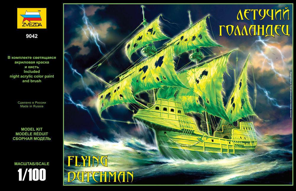 Zvezda 9042 Ghost Ship Flying Dutchman 1 100